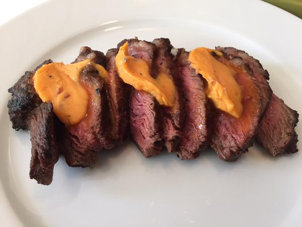 Picanha with sriracha butter